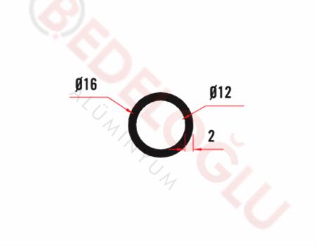 Küpeşte Profilleri - - 92 - 0.237 Kg/m