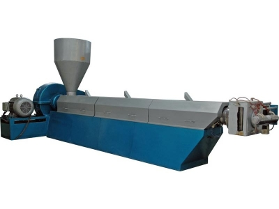 Granül Makinası, Plastik Granül Ekstruderi