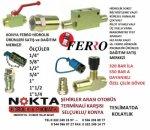 Ferro Hidrolik Konya, Hidrolik Otomatik Rekor 1/4 ,ferro Valf Konya,