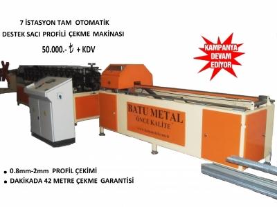 Pvc Destek Sacı Makinası Batu Metal Marka