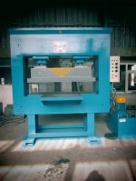 Hydraulic Press ..200 Tonnes Of Rubber From The Rubber Press, Hot Press,