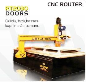 Ysk Otomatik Kapı Ebatlama Makinası Çizici+Zımpara+Plc Ekran