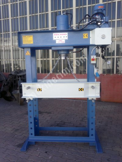100 TON HYDRAULİC WORKSHOP PRESS