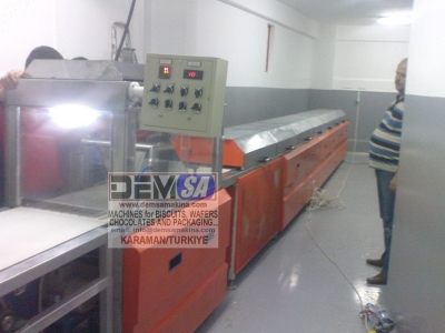 Satılık Sıfır Çikolata kaplama makinası Fiyatları  çikolata mikseri,gofret fırını,pudra şeker değirmeni,çikolata makinası,çikolata hattı,palletiser,pallet stretch wrapping machine,chocolate mixer,stock tank,wafer machine