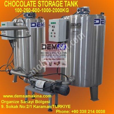 Satılık Sıfır Çikolata stok tankları Fiyatları Konya palletiser,pallet stretch wrapping machine,chocolate mixer,stock tank,wafer machine,çikolata mikseri,gofret fırını,pudra şeker değirmeni,çikolata makinası,çikolata hattı