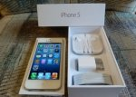 SATILIK: Apple iPhone 5 (16GB, 32GB, 64GB) UNLOCKED
