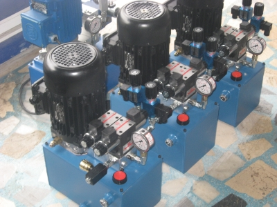 Hydraulic Unit Mixer Unit