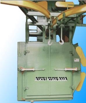 Askılı Kumlama Makinası
