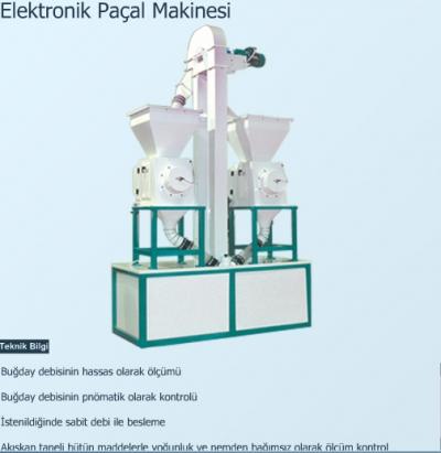 Elektronik Paçal Makinesi