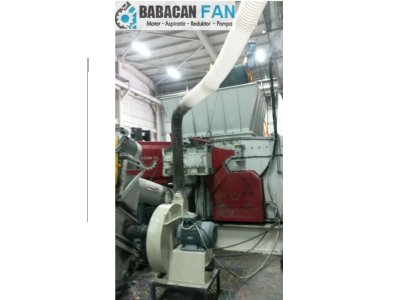 Raw Relief Secagem Materiais Transport Fan Drive Konya