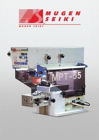 Mpt-55 Tampon Baskı Makinesi Açık Hazne