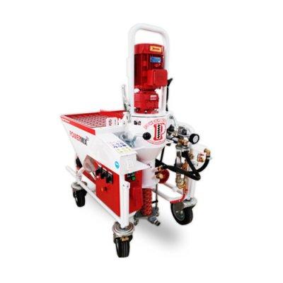 Powermix Plus-Alçı Sıva Makinası