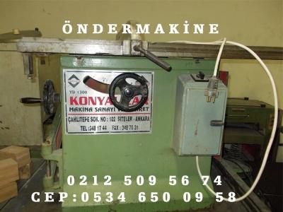 Yatar Daire Makinesi Konyalılar 130 Luk Çift Devir