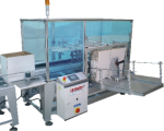 automatic carton box opening machine, case preparation machine, glass water carton setting machine,