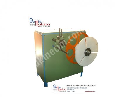 HOSE-CABLE-WICK-PIPE COILING MACHINE