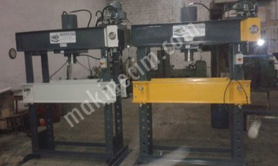 150 TON HYDRAULIC WORKSHOP PRESS