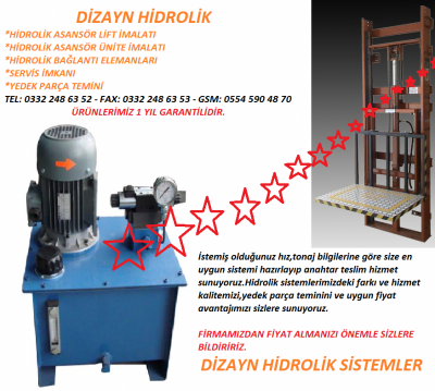 Hidrolik Asansör Sistemleri