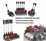 hydraulic control handles