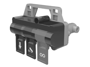 3 Lü Damper Düğmesi - 871965 (Fiyatlarımıza Kdv Dahil Değildir.)