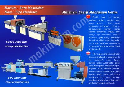Satılık Sıfır Pe Plastik Boru Makinası Fiyatları İstanbul boru makinesi,pprc boru,tesisat borusu,temiz su borusu,pvc hortum,imalat makinası,su borusu,tesisat borusu,üretim hattı,extruder hattı,bodonoz,extrüder