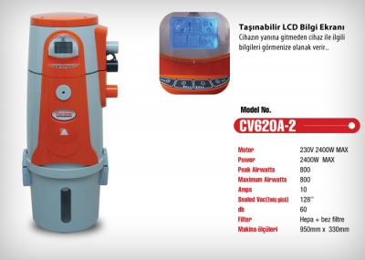 Central Vacuum Cleaner With Lcd Display For Sale New Price