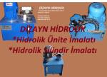 hidrolik ünite imalatı KONYA DİZAYN HİDROLİK