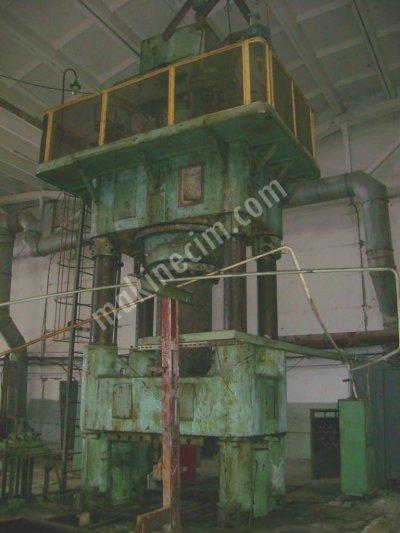 Satılık 2. El 2000 TON HİDROLİK PRES Fiyatları Bursa 2000 ton hidrolik pres,pres,hidrolik pres