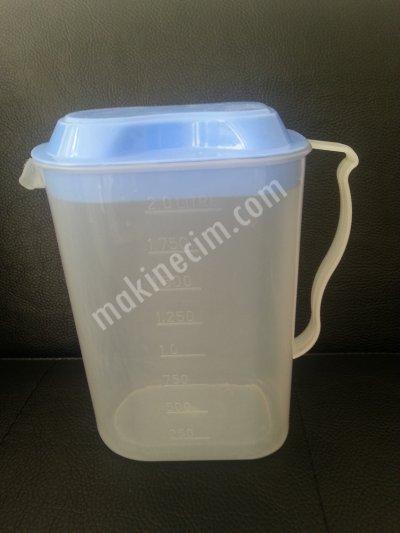 Satılık 2. El Moblen oval sürahi kalıbı 2 lt. Fiyatları İstanbul Plastik sürahi, plastik kalıp, sürahi kalıbı