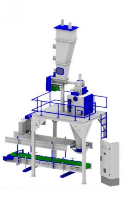 Renas Makina Tam Otomatik Vidalı Sırttan Dikişli Un Paketleme Makinası
