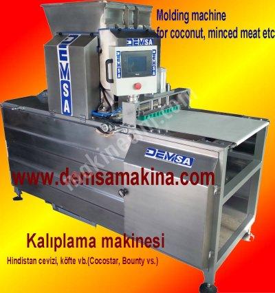 Satılık Sıfır Kokostar Yapma Makinası Fiyatları Karaman cocostar,kokostar,hindistan cevizi kalıplama makinası,köfte hazırlama makinası,çikolata kaplama