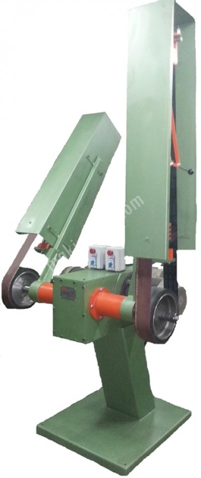 Bant Zımpara Makinesi  Yeni  Çift Motor  Çift Kol