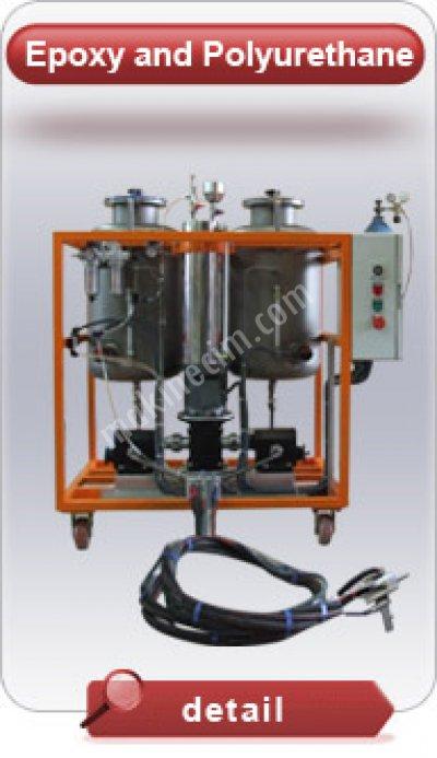 2. Poliüretan Alçak Pasınç Döküm Makinası