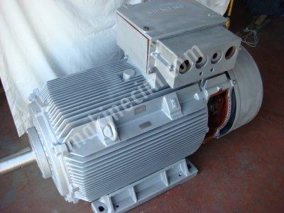 Reostalı Motor.-Bilezikli Asenkron-.250 Kw.yeni Gibi.