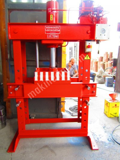 Hydraulic Press ..30 Ton Tablalı Pres