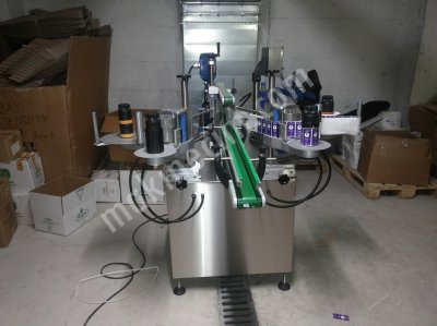 Tam Otomatik İki Yönlü Yuvarlak Sarma Ve Etiketleme Makinası