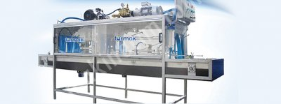 Endüstriyel Konveyörlü Kasa Tipi Kasa Yıkama Makinesi Lc 1200