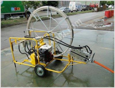 Hidçek  Hidrolik Kılavuz İtme Çekme Sarma Makinesi