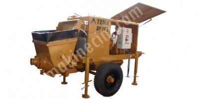Islak Beton Püskürtme Makinası Beton Pompası   Bp 15 E