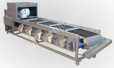 Zeytin Eleme Makinası - Paslanmaz Çelik V Kayışlı