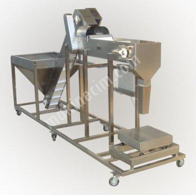 Zeytin Ve Granüllü Gıda Dolum Makinası  Yarı Otomatik