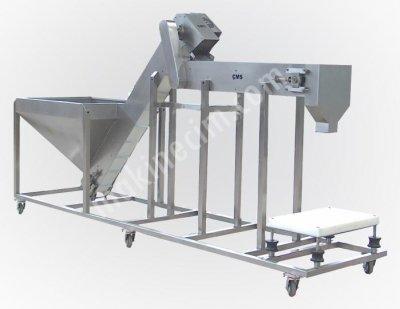 Zeytin Ve Granüllü Gıda Dolum Makinası  Manuel