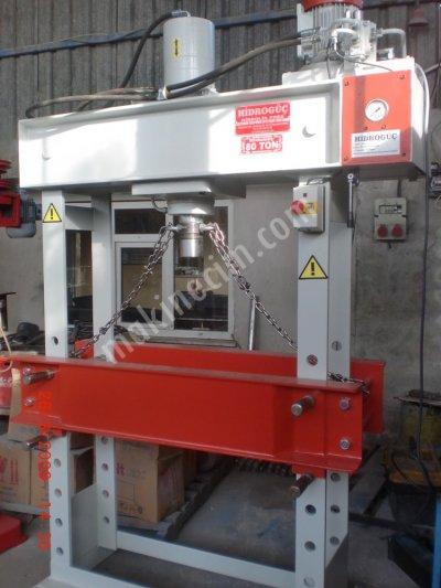 Hydraulic Press ..hidrogüç Pres  80 Ton Atölye Presi
