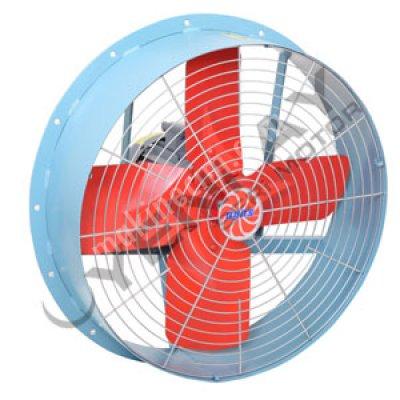 Endüstriyel Aspiratör Fan - 4 Kanatlı Sanayi Tipi