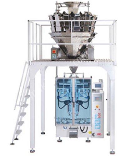 On Dört Kefeli Elektronik Terazili Paketleme Makinası - Odm 300 + Tw-C /14