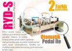 Renas Makina Yarı Otomatik Çift Nozullu Sıvı Dolum Makinası 500-5000Ml