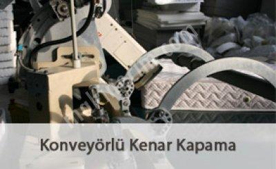 Konveyörlü Kenar Kapama Makinası