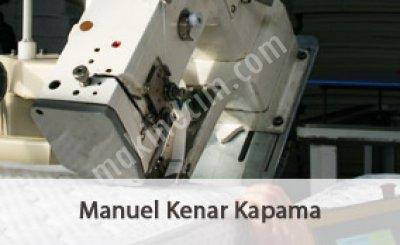 Manuel Kenar Kapama Makinası