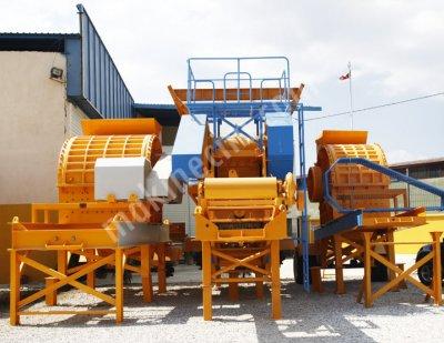 Satılık Taş Maden Kırma Eleme Stoklama Tesisleri   General Makina Ankara