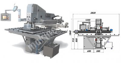 Deka Makine / Otomatik Cam Delme Makinesi