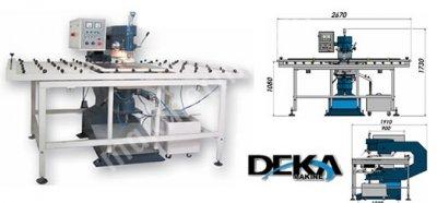 Deka Makine / Yarı Otomatik Cam Delme Makinesi